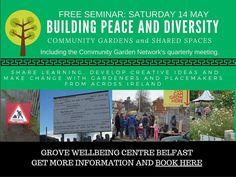 Peace, Diversity & Networking in Belfast ~ Registration Open