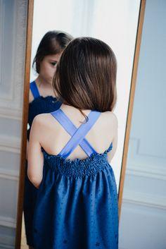 Mode enfant DIY- Robe à smocks fille, patron de couture facile   Vanessa Pouzet