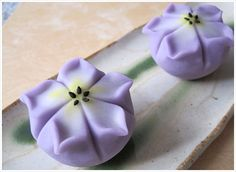 Wagashi - 鎌倉創作和菓子 手鞠 :桔梗 Chinise bellflower
