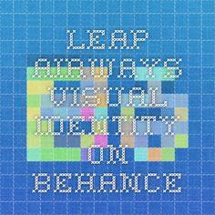 Leap Airways Visual Identity on Behance