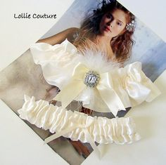 #Beautiful Wedding #wedding #glam #bridal #garter sets by lolliecouture, $40.00