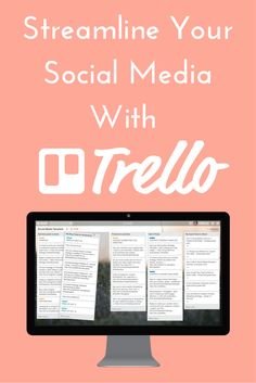 Learn how to streamline your social media scheduling with Trello. Don't let social media scheduling bog down your schedule and eat into your time. With these video walkthroughs, you can see exactly how I use Trello to lessen the time I spend scheduling social media posts. You also get a Trello social media board template that you can use to streamline your scheduling.