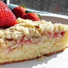 Fresh Strawberry Coffee Cake - Allrecipes.com