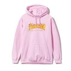 Thrasher Hoodie Sweatshirt Hooded Pullover Streetwear Trasher Hoodies Men Hip Hop Women Designer Clothes Fleece Jacket Tracksuit PINK HOODIES - JAKKOUTTHEBXX -