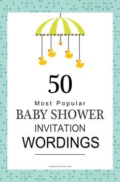 50 Most Popular Baby Shower Invitation Wordings Momjunction Will Help You Find The Right Words To Create A Memorable And Fun Welcome