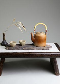 日式粗陶茶具茶器 普洱茶紫砂茶壶 大提梁壶 泡茶壶 不可煮朱雀-淘宝网