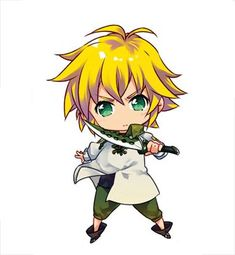 'Seven Deadly Sins Meliodas Chibi' by xiaokoong Kawaii Anime, Cute Anime Chibi, Kawaii Chibi, Anime One, Seven Deadly Sins Anime, 7 Deadly Sins, Chibi Manga, Manga Anime, Anime Stickers