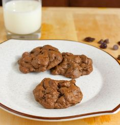 Cherry chocolate chip cookies. @Inge Schmidt  - these remind me of Bishop St.