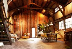 Barn converted into a house (the guy did it himself for only 3600 dollars!) #ApartmentTherapy