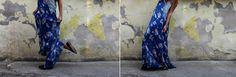 Petit Diable Noir: Vodim te na more, Maxi dress, floral dress