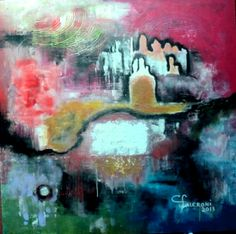 Pintura. Artista Maria Cristina Faleroni Titulo de la Obra : Desde la quietud.