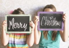 Make your Christmas card photo pop with fun props! It's a trend we've spotted everywhere on Pinterest and photography blogs and the perfect way to set your card apart from the rest!