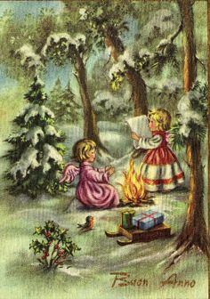 Miss Jane: Christmas Cards 1960