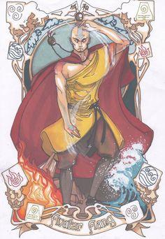 Avatar Aang by JebOfADown on deviantART