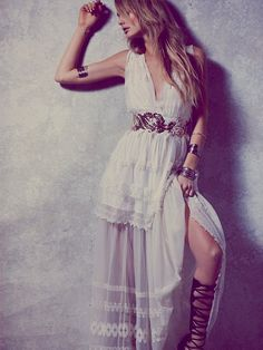 Free People Giannas White Limited Edition Gown, $700.00