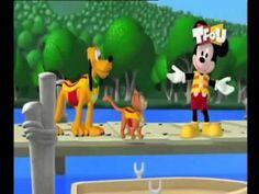 La maison de Mickey la chasse aux oeufs de paque - YouTube