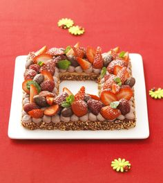 Tarte Pascale aux fruits rouges issue de Cookidoo.fr