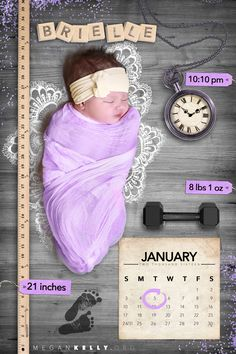 Brielle's Newborn Baby Pictures | Megan Kelly Photodesign