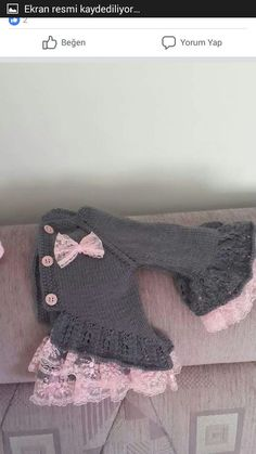 "Diy Crafts - Kids ""This post was discovered by Esr"", Likes, 23 Comments - Örgü"", ""Discover thousands of images about"" Diy Crafts Knitting, Knitting For Kids, Crochet For Kids, Crochet Crafts, Crochet Projects, Knit Crochet, Crochet Baby Jacket, Crochet Baby Clothes, Sweater Knitting Patterns"