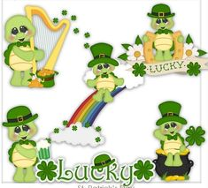 Laura Lee, Folder Decorado, Tortoise Turtle, Lady Bugs, Lil Baby, Yard Art, St Patricks Day, Free Printables, Coloring Pages