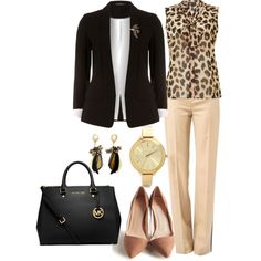 """""""Conference Chic"""" by queenmdp on Polyvore"""