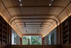 Architecture Magazines, Architecture Details, Interior Architecture, Ceiling Detail, Ceiling Design, Office Interior Design, Luxury Interior, Wall Cladding Designs, Lighting Concepts