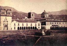 Colegio Mayor de San Bartolomé en la época de la Independencia. Bogota. Colombia.