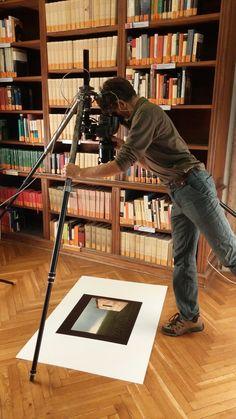Il fotografo di Cameraphoto al lavoro...