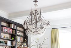 Crystal ship chandelier: what dreams are made of