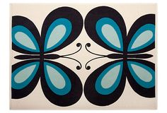 Butterfly placemats. Groovy.
