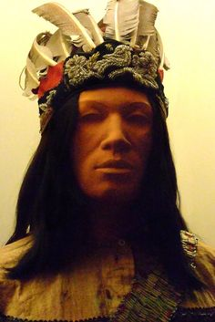 Headdress of an Iroquois Warrior