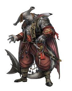Taitãn - Soldado Hibrido tubarao martelo - Reino de Riacho Profundo