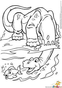 Dinosaur and Fish $0.00