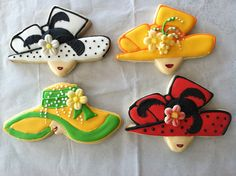 Kentucky Derby Cookies 2013 by ohlucy!, via Flickr
