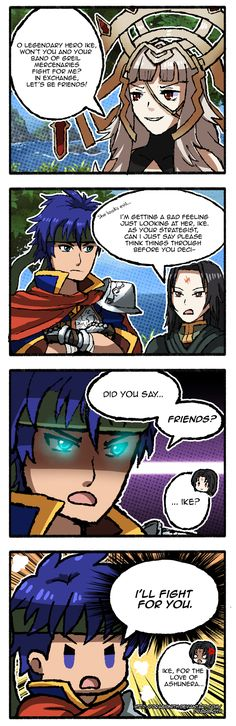 FE Heroes: Young Mercenary Ike | Fire Emblem | Know Your Meme