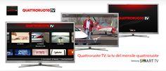 Il mensile Quattroruote su smart tv Samsung con Vetrya