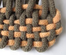 weaving with I-cord