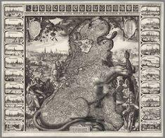 David Rumsey Historical Map Collection | Novissima, et Accuratissima Leonis Belgici, Seu Septemdecim Regionum Descriptio. 1611