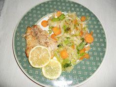Fogas a Viktória tóból | Bakancs és Fakanál Potato Salad, Potatoes, Chicken, Meat, Ethnic Recipes, Food, Potato, Essen, Meals