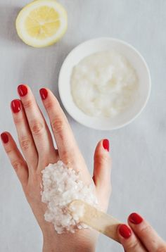 Don't let your hands age you - use this natural Age Spot Remover for hands recipe to get rid of those sun spots.