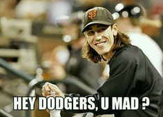 Tim Lincecum.  I love a guy with a great smile...it really turns me on.