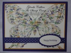 Thumping Technique by Glenda Calkins - Cards and Paper Crafts at Splitcoaststampers