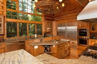Wow. That's a lot of kitchen.