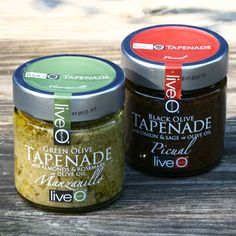 Food Packaging, Packaging Design, Gourmet Gift Baskets, Label Design, Graphic Design, Tapenade, Coffee Cans, Olive Green, Pantry