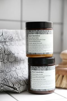 Trendenser - marimekko + Aesop = Sant. What a beautiful collaboration!