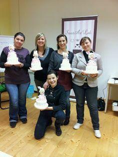 SweetArt Lab - Cake Design: Corso di cake design le foto