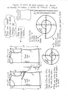 Blusa com babado sobreposto no decote | DIY - molde, corte e costura - Marlene Mukai