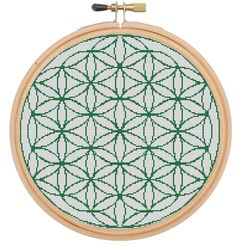 Flower of Life Cross Stitch Pattern von WaltonValeDesigns auf Etsy Cross Stitching, Cross Stitch Embroidery, Cross Stitch Patterns, Flower Of Life Pattern, Flower Patterns, Needlepoint Patterns, Embroidery Patterns, Blackwork, Everything Cross Stitch