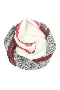 Herringbone Infinity Scarf by Faire Collection