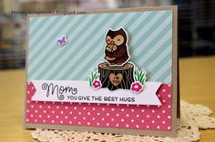 Featuring Lawn Fawn's Mom + Me stamp set SKU 686836 and Mom + Me die set SKU 679719, available at www.addictedtorubberstamps.com